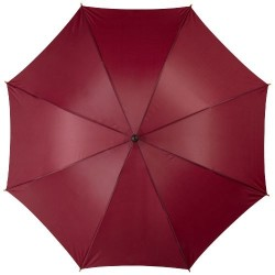 """Parapluie 23"""" à ouverture automatique, poignée et mât en bois"""