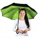 Parapluie double toile logoté